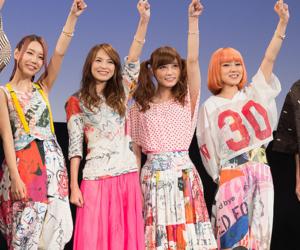 scandal band, haruna ono, and rina suzuki image