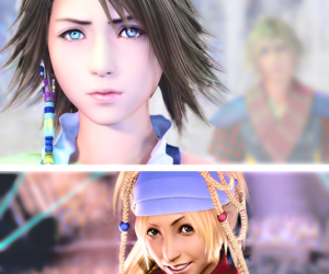 final fantasy, rikku, and yuna image