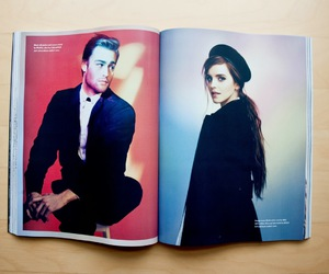 couple, emma watson, and fashion image