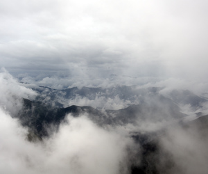air, clouds, and grunge image