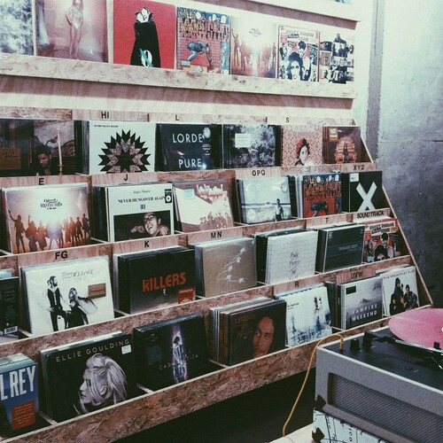 grunge, music, and vinyl image