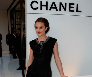 chanel, leighton meester, and dress image