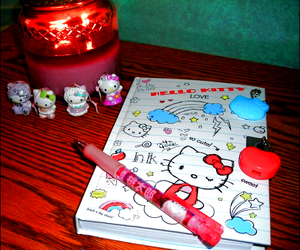 diary, hello kitty, and cute image