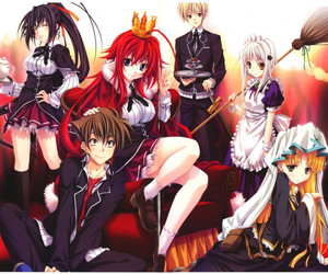 anime, ecchi, and high school dxd image