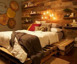 bed, books, and eco image