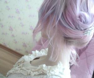 fashion, hair, and kawaii image