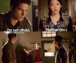 kira, teen wolf, and stiles image
