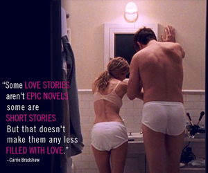 Carrie Bradshaw, quote, and sex and the city image