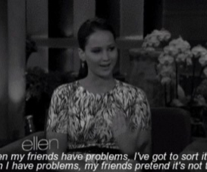 Jennifer Lawrence, quotes, and friends image