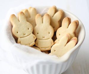 food, Cookies, and bunny image