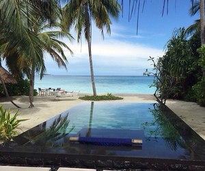 pool, beach, and ocean image