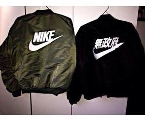 nike, jacket, and fashion image