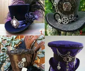 beautiful, hat, and steampunk image
