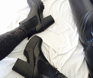 black, publicdesire, and boots image