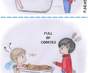 fanart, funny, and zico image