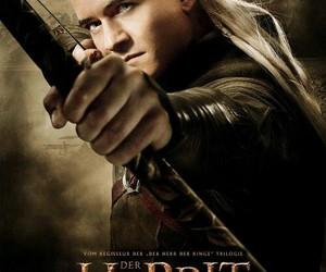 Legolas, the hobbit, and orlando bloom image