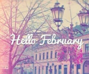 february, hello, and hello february image