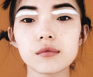 model, asian, and makeup image