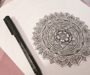 mandala and zentangles image