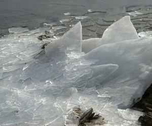 pale, ice, and nature image