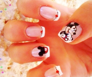 mickey and nails image