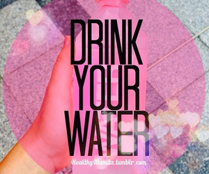 water, motivation, and drink image