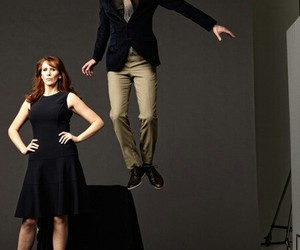 david tennant, doctor who, and catherine tate image
