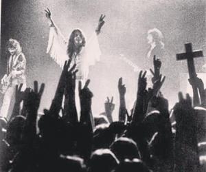 black, Black Sabbath, and concert image