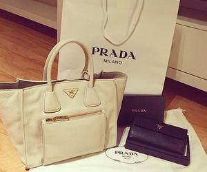 bags, Prada, and white image
