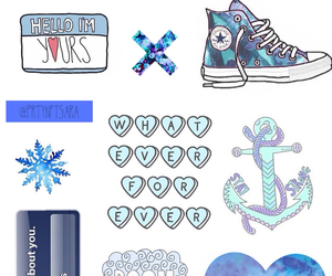 blue, overlay, and blue overlays image