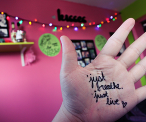 colors, hands, and text image