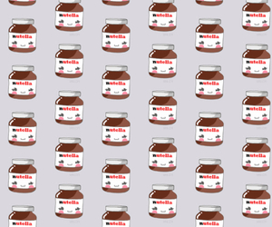 wallpaper, background, and nutella image