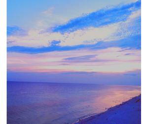 beach, sky, and beautiful image