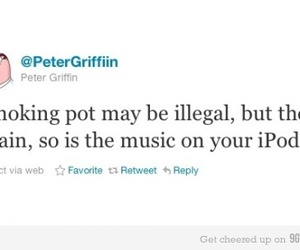 illegal, pot, and family guy image