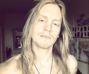 blonde hair, dragonforce, and handsome image