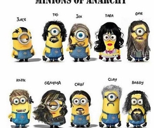 minions and sons of anarchy image