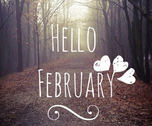 february and hello february image