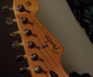 fender, guitar, and music image