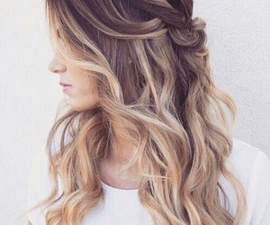 curls, fashion, and hairstyle image
