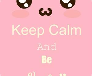 kawaii and keep calm image