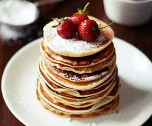 breakfast, food, and pancake image