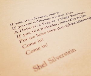 poem, shel, and silverstein image