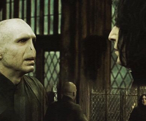 harry potter, severus snape, and voldemort image