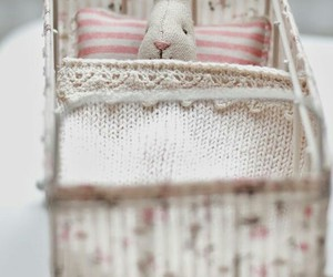 bed, diy, and doll image