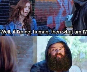 hagrid, the mortal instruments, and harry potter image