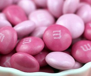 pink, candy, and m&m's image