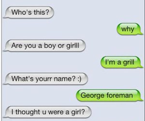 funny, text, and grill image