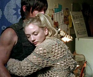 norman reedus, daryl dixon, and beth greene image