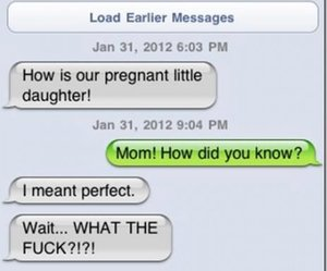 funny, lol, and daughter image