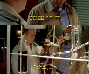 breaking bad, coffee, and funny image